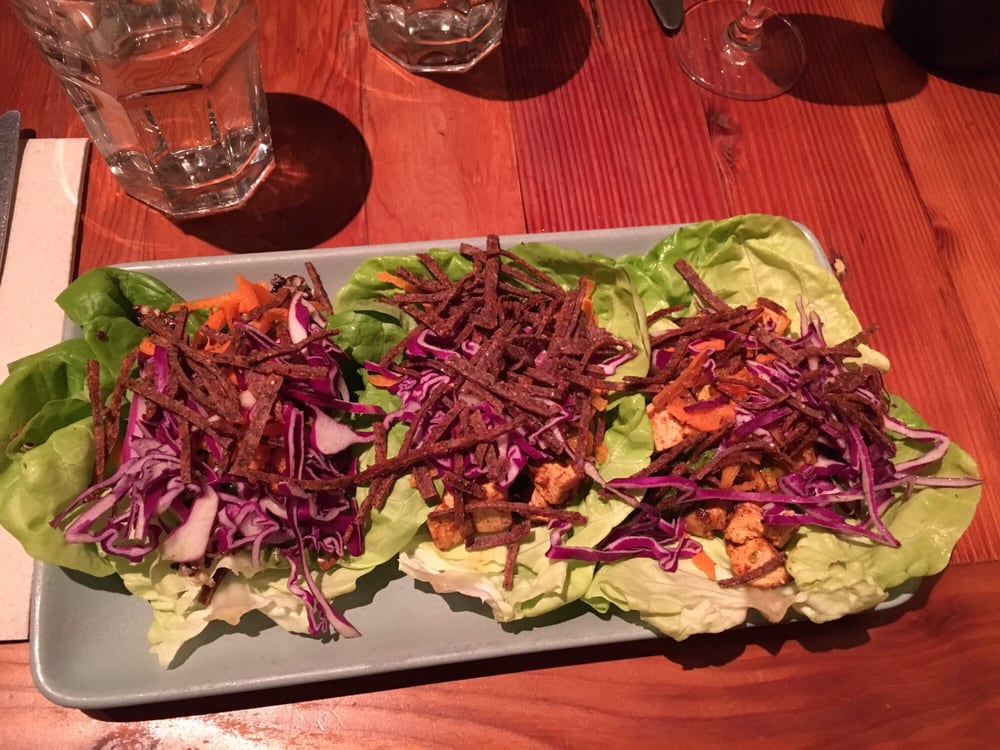 green chile kitchen yelp vegetarian lettuce wrapped tacos filled with quinoa and 3975
