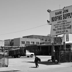 Photo Of Sam Jin Roofing Supply   Oakland, CA, United States. The Sign