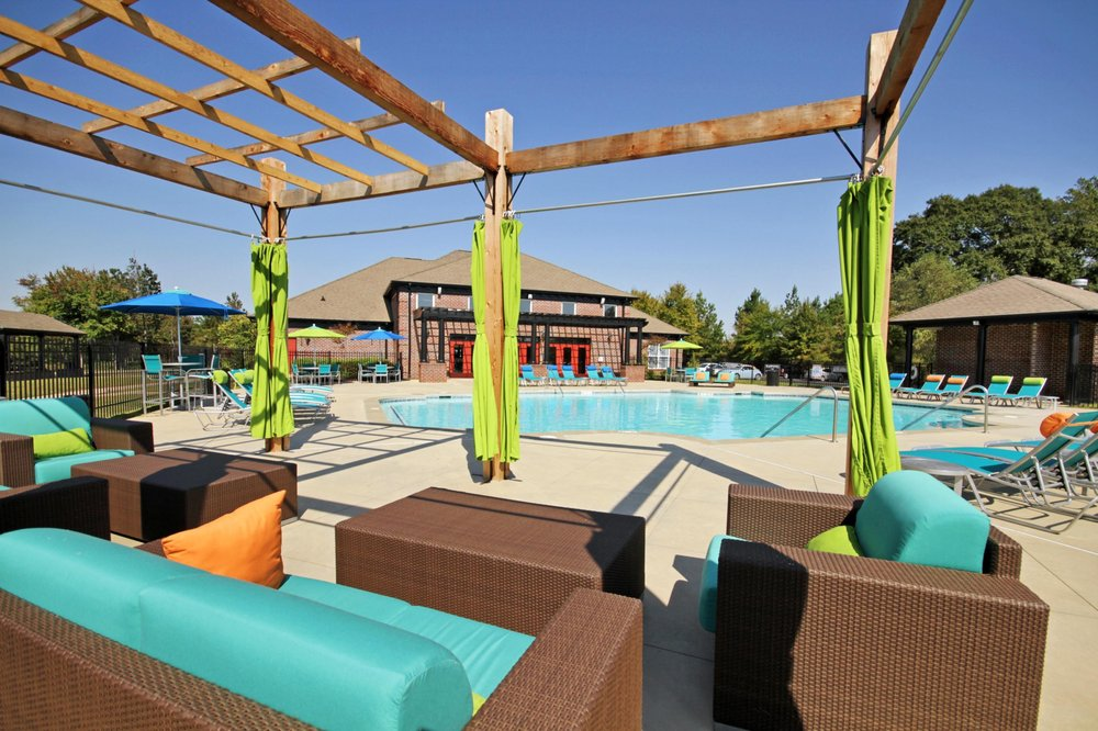 Photo Of The Social Apartments Auburn Al United States Clubhouse Pool Cabana