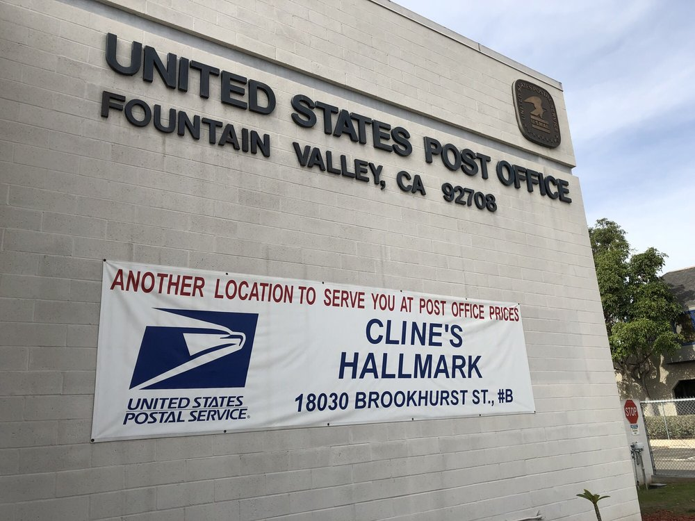 US Post Office: 17227 Newhope St, Fountain Valley, CA