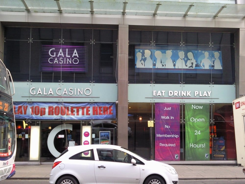 gala casino glasgow (merchant city)