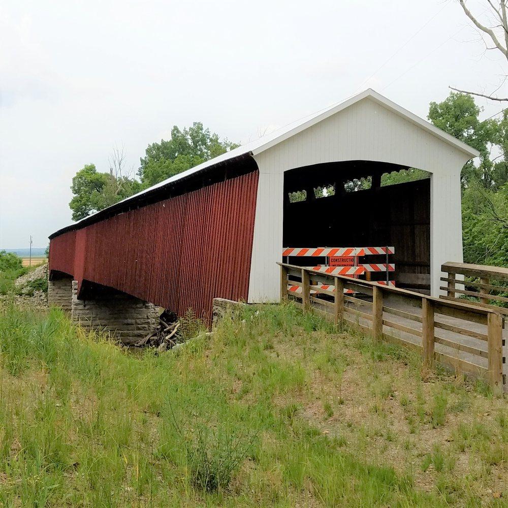 Shieldstown Covered Bridge: E County Rd 300 N, Shields, IN