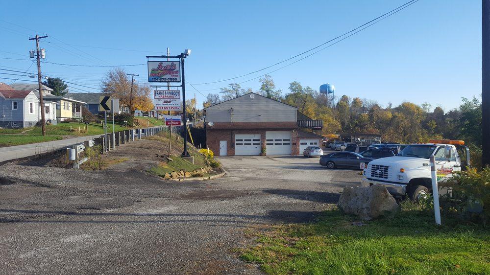 Joe's Body & Paint Shop: 998 Route 837, Monongahela, PA