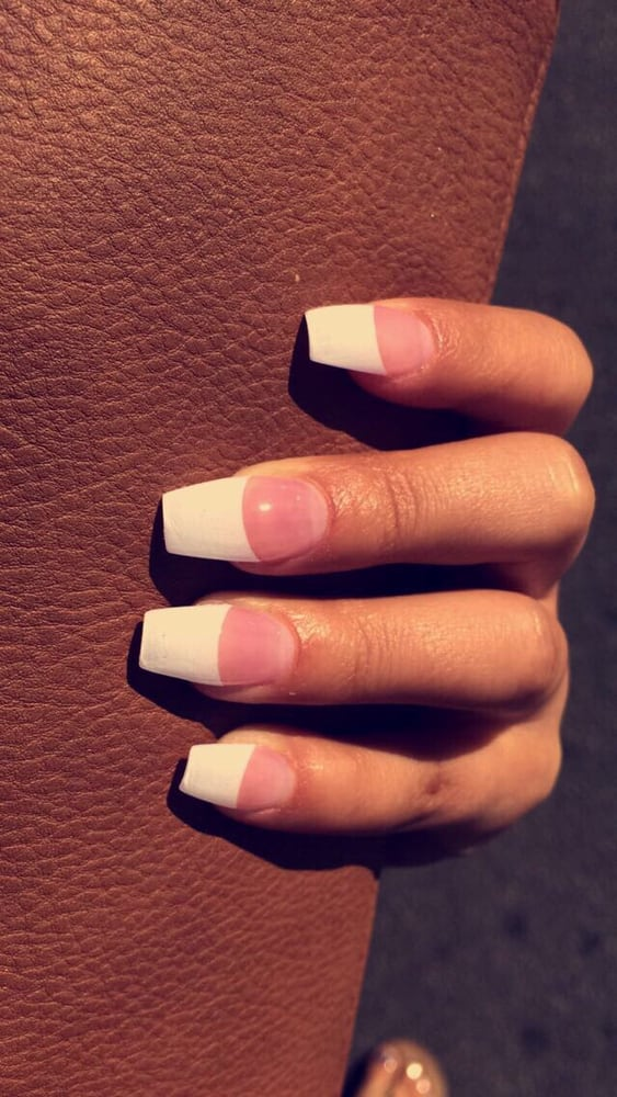 Charlie did amazing ! Coffin white tip with pink, always satisfied ...