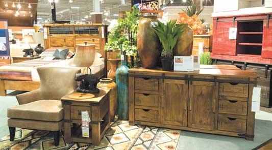Shop our huge selection of rustic styled furniture shop for All american furniture warehouse