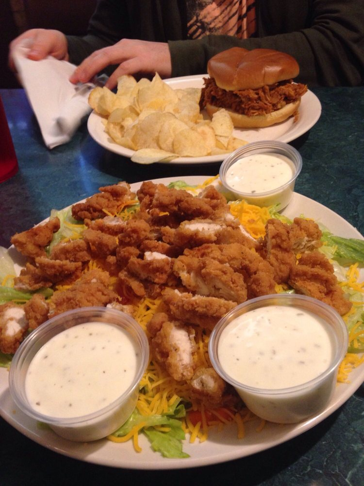 Food from Todd's Barbecue Restaurant and Bar