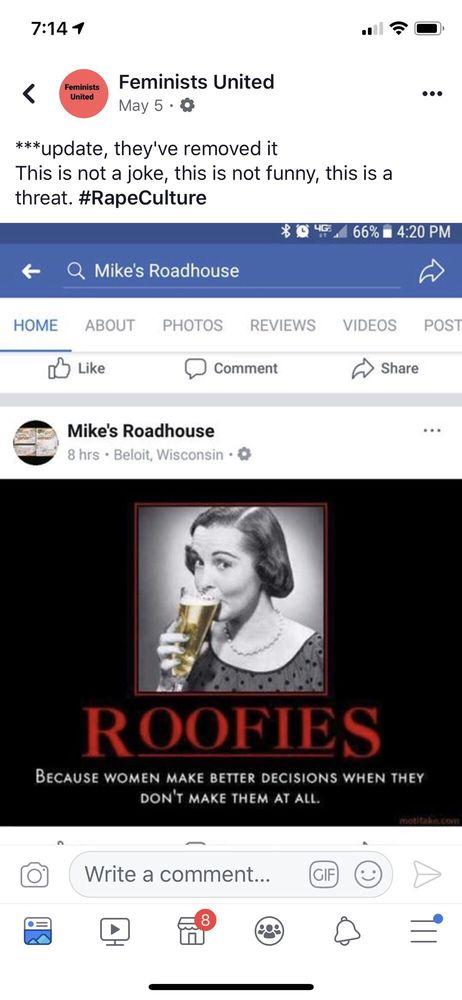 Mike's Roadhouse: 614 Broad St, Beloit, WI
