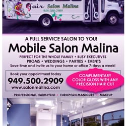 Mobile Salon Malina - 21 Photos - Salons de coiffure - Dana