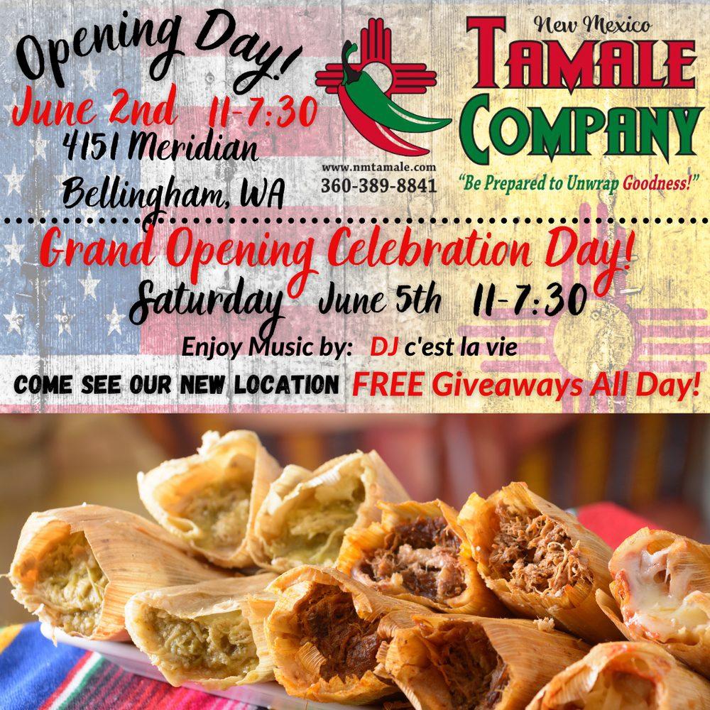 New Mexico Tamale: 4151 Meridian St, Bellingham, WA