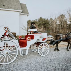 Photo Of Mo S Carriages And Trail Rides Hoover Al United States Wedding