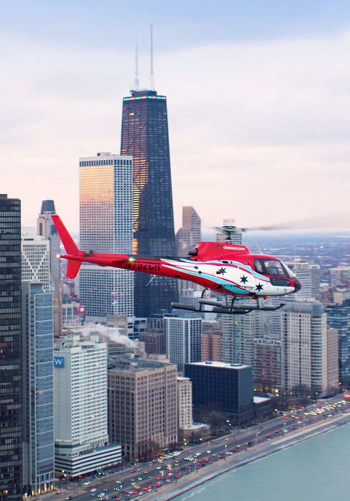 Chicago Helicopter Experience: 2420 S Halsted, Chicago, IL