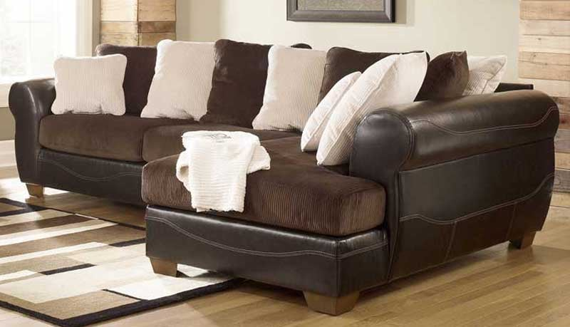 Steal A Sofa Furniture Outlet: Ashley Victory Chocolate 50700