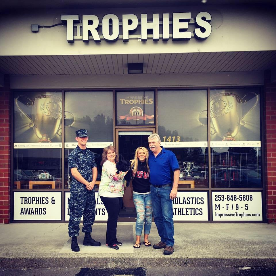 Impressive Trophies & Awards: 1413 E Main Ave, Puyallup, WA
