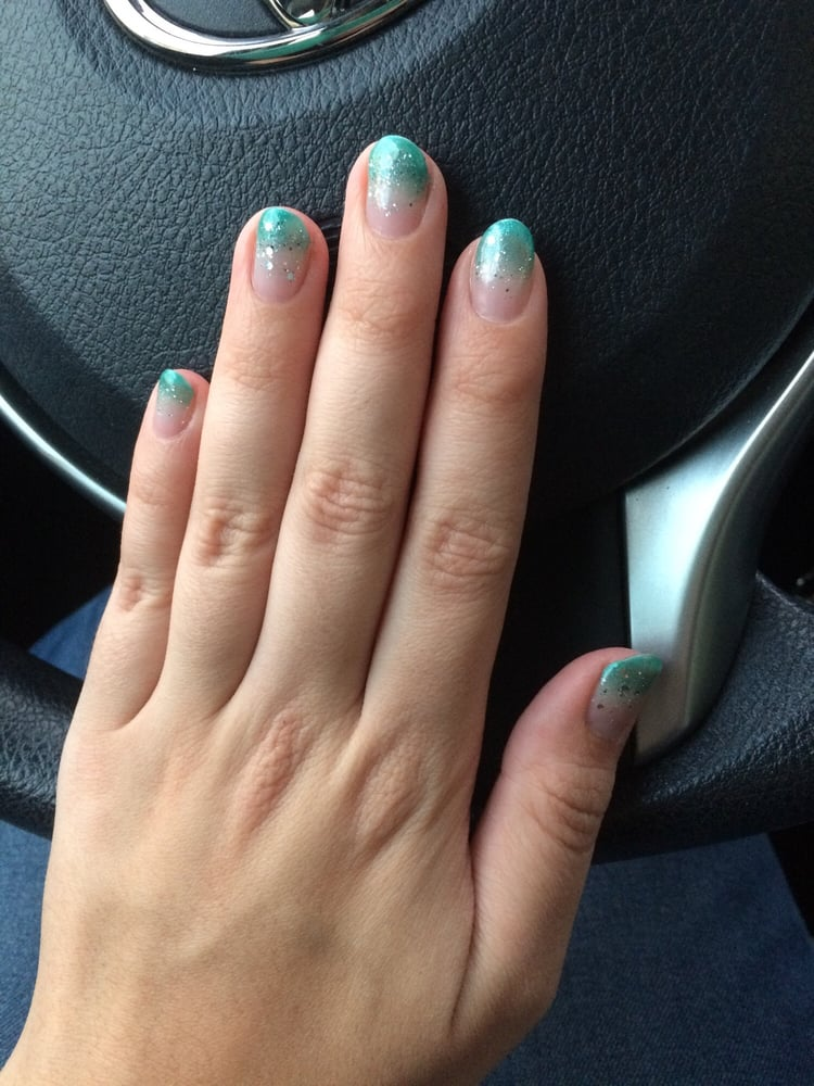Happy with my faded gel nails! - Yelp