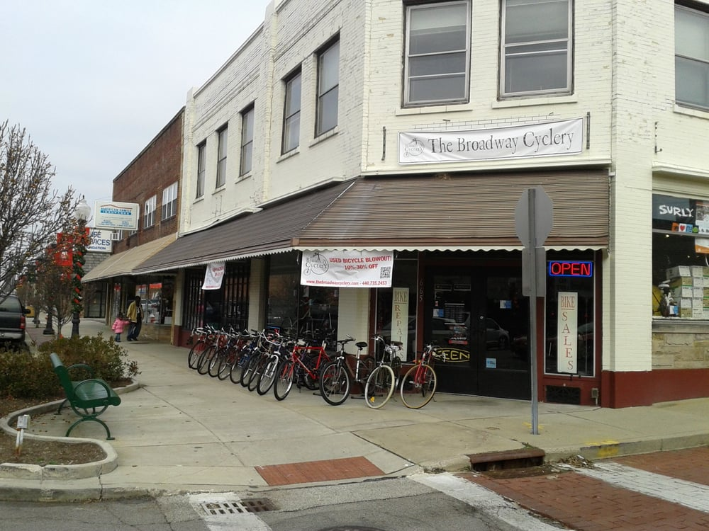 The Broadway Cyclery: 665 Broadway Ave, Bedford, OH