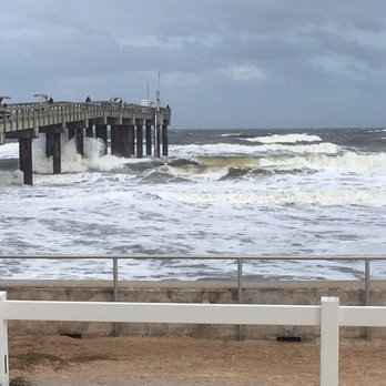Photo Of St Augustine Beach Pier Fl United States