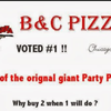 B & C Pizza: 608 State St, Bay City, MI