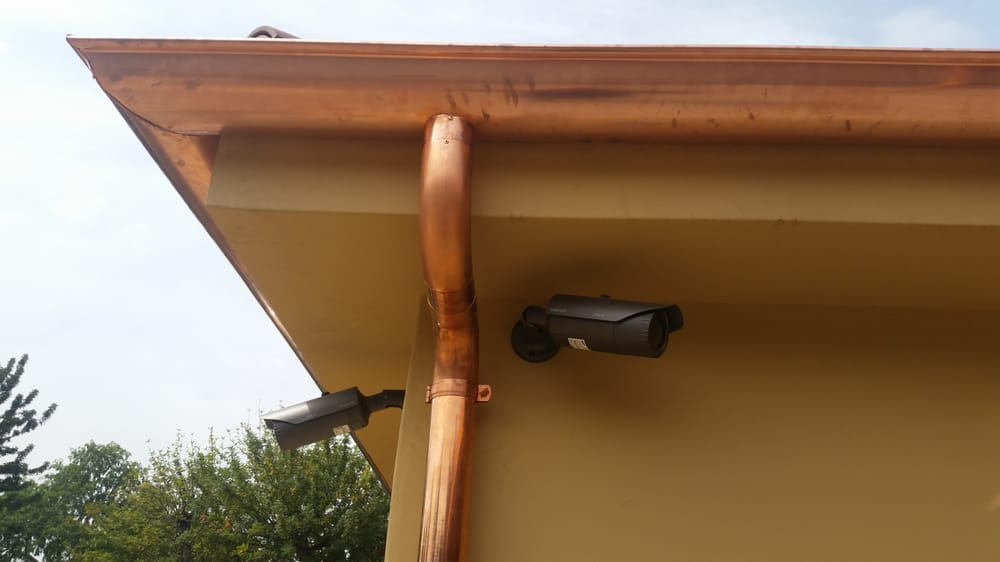 Sherman Oaks Ca Half Round Rain Gutters With Round