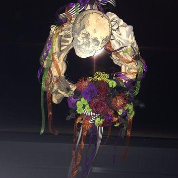 Photo Of Log Cabin Florist   Bakersfield, CA, United States. Custom  Halloween Wreath
