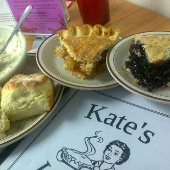 Kates Kitchen Pie Menu Flat Rock