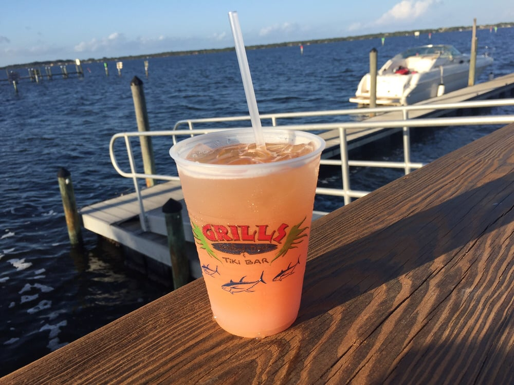 Mai tai out on the dock yelp - Grills seafood deck tiki bar ...