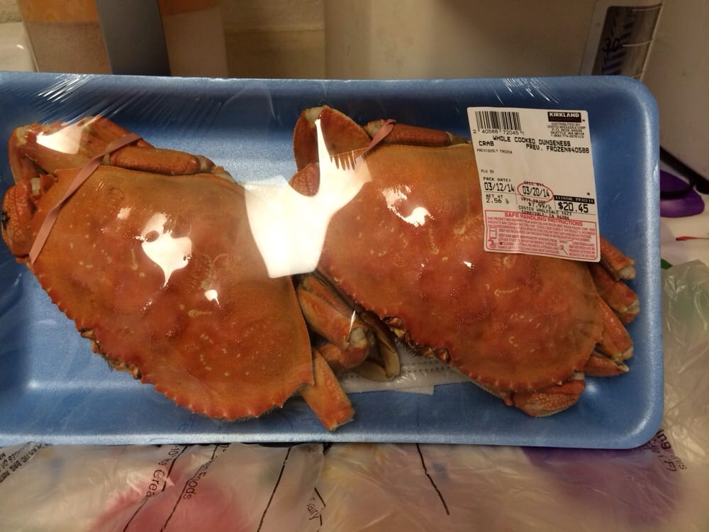 Dungeness Crab, fresh and can't beat the price  I'm indeed a
