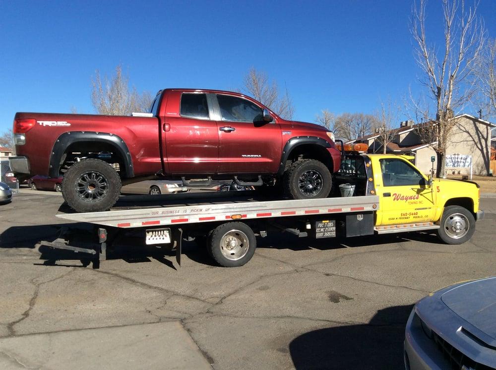 Wayne's Towing: 2500 N Fwy, Pueblo, CO