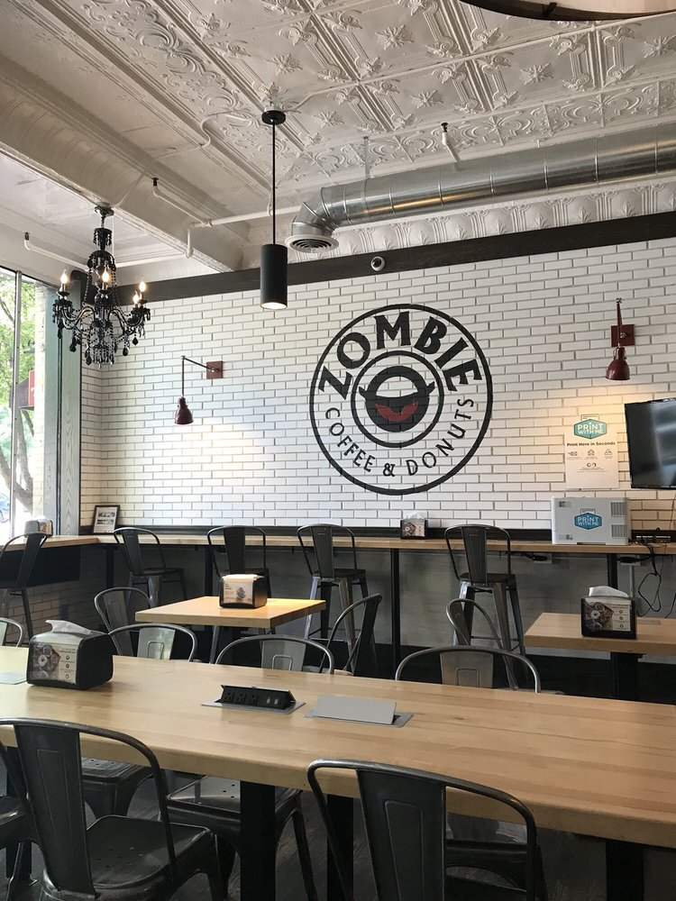 Zombie Coffee and Donuts: 350 E Broad St, Athens, GA