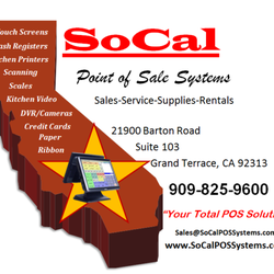 Socal point of sale systems shopping 21900 barton rd for 103 merion terrace moraga ca