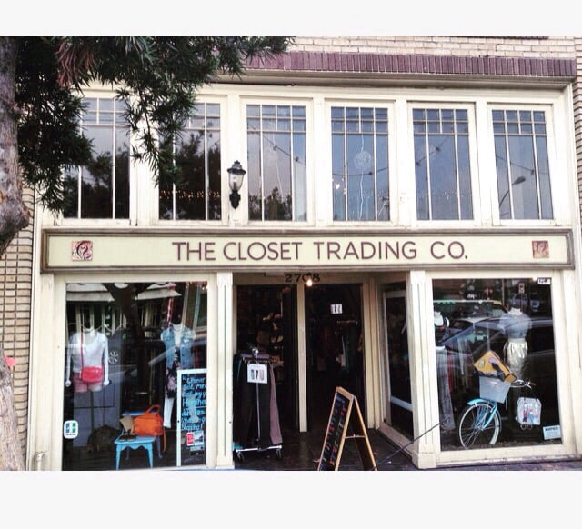 Outside of Santa Monica's #1 luxury Resale/Consignment  The