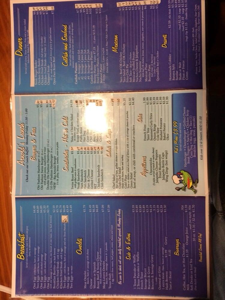 Arnold's Family Restaurant: Hwy 259 N, Lone Star, TX