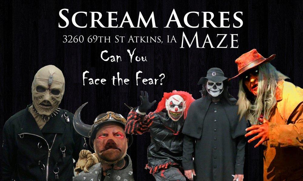 Scream Acres: 3260 69th St, Atkins, IA