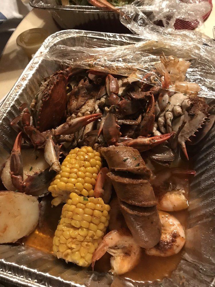Bay Bay's Cajun Seafood: 6138 Chesapkeake Blvd, Norfolk, VA