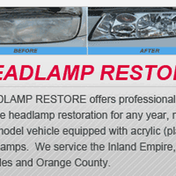 Headlamp Restore Auto Repair 5198 Arlington Ave Riverside Ca