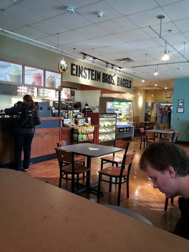 Einstein Brother Bagels: 245 Memorial Dr, Cullowhee, NC