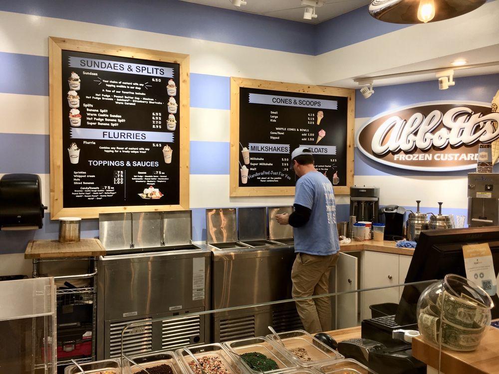 Abbott's Frozen Custard: 21426 Epicerie Plz, Sterling, VA