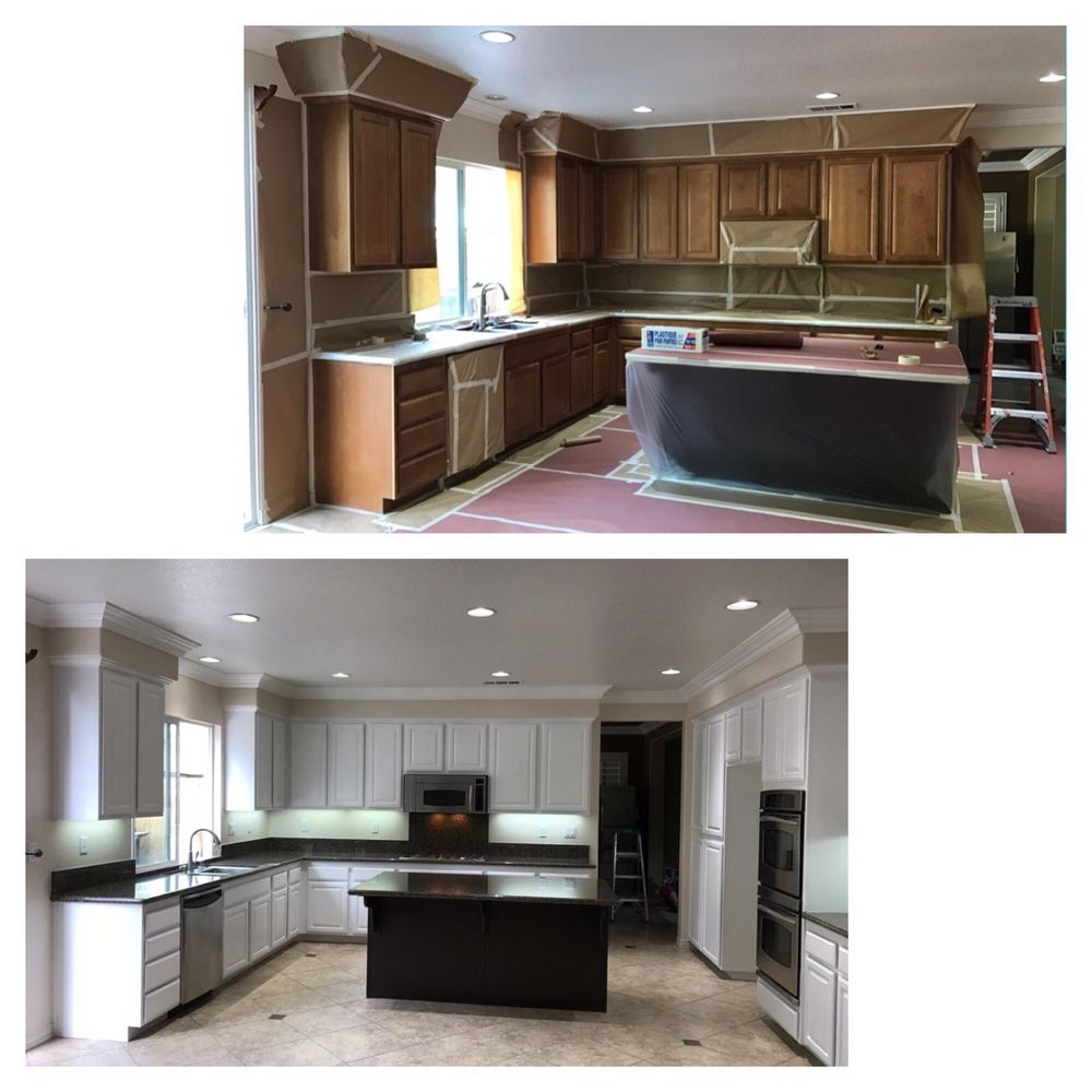 New Kitchen Before And After: Before And After Of My New Dream Kitchen! I've Always