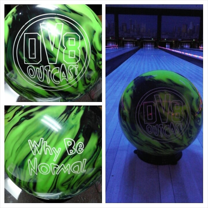 New dv8 outcast... glow in the dark performance bowling balls! - Yelp
