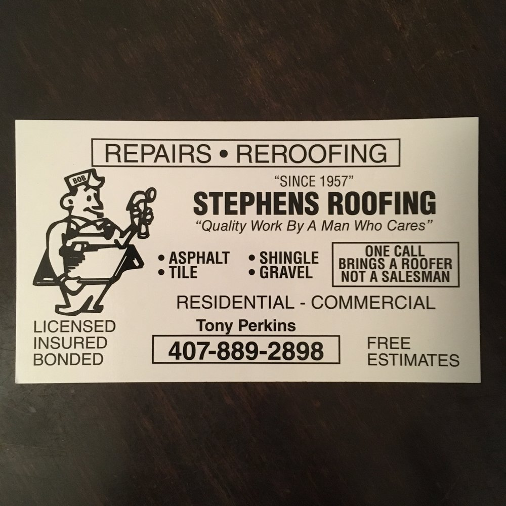 Stephens Roofing   Roofing   4761 Florence St, Apopka, FL   Phone Number    Yelp
