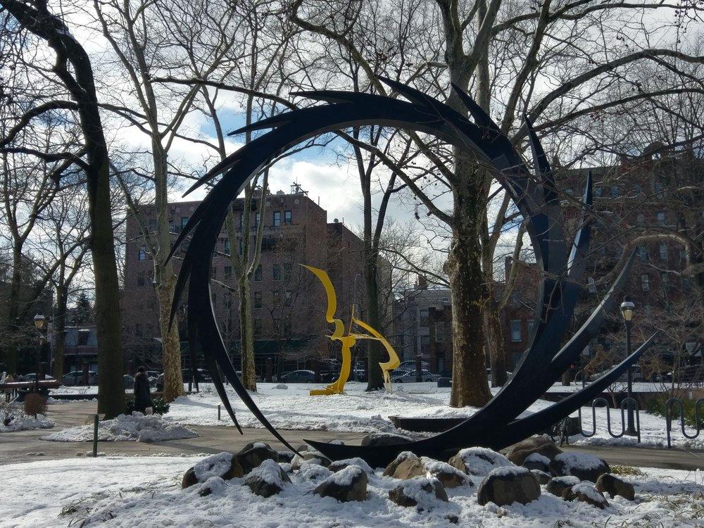 Pratt Sculpture Garden