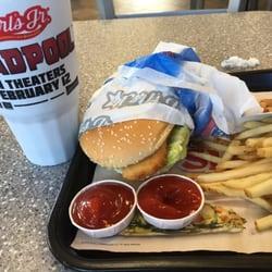 Carl s jr 48 photos burgers 161 freestate blvd for Carl s jr fish sandwich