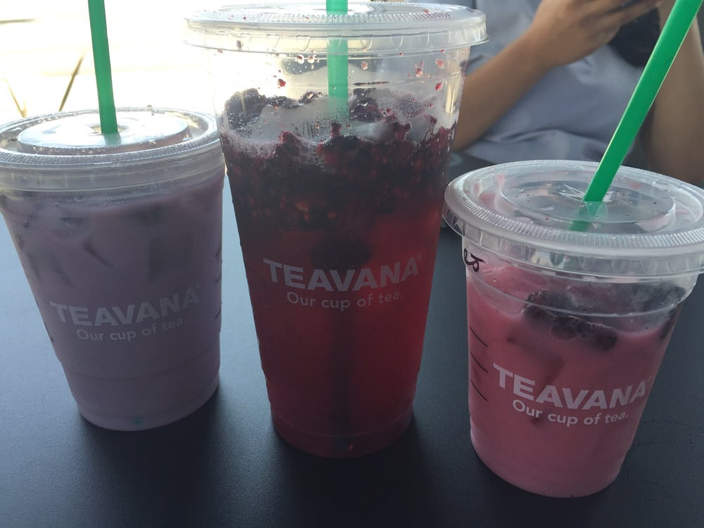 Passion Tea W Soy Milk Very Berry Hibiscus Passion Tea Wcoconut
