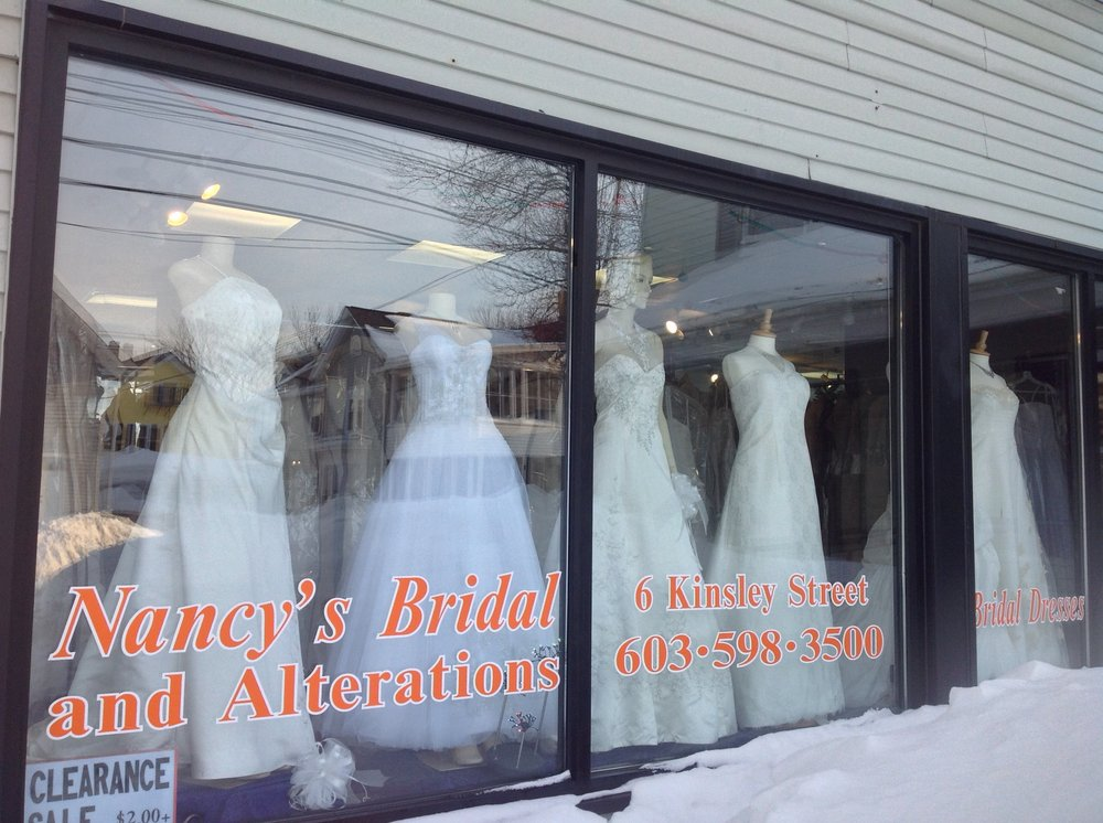 Nancy's Bridal & Alterations: 6 Kinsley St, Nashua, NH