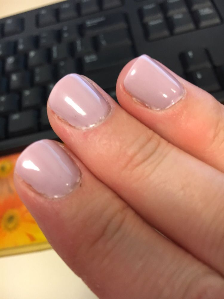 Messy gel manicure - Yelp