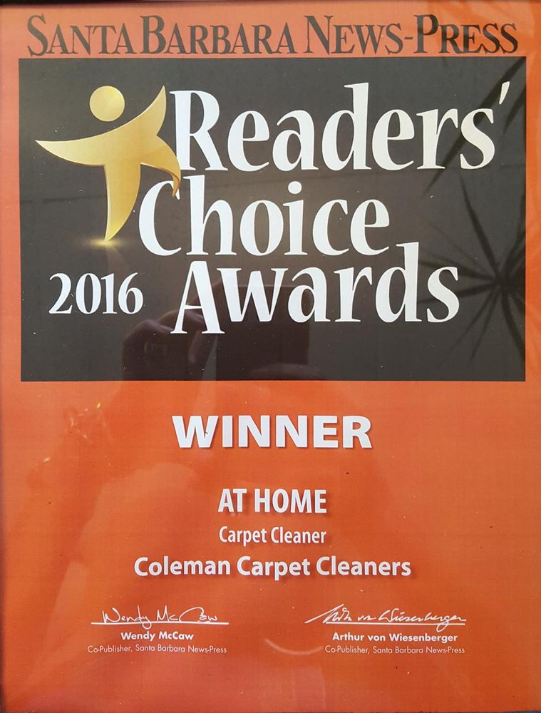 Coleman Carpet Cleaners Cleaning 275 Orange Ave Goleta Ca Phone Number Last Updated December 9 2018 Yelp