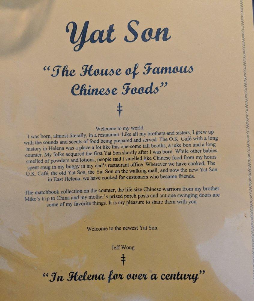 Yat Son Restaurant: 22 E Main St, East Helena, MT