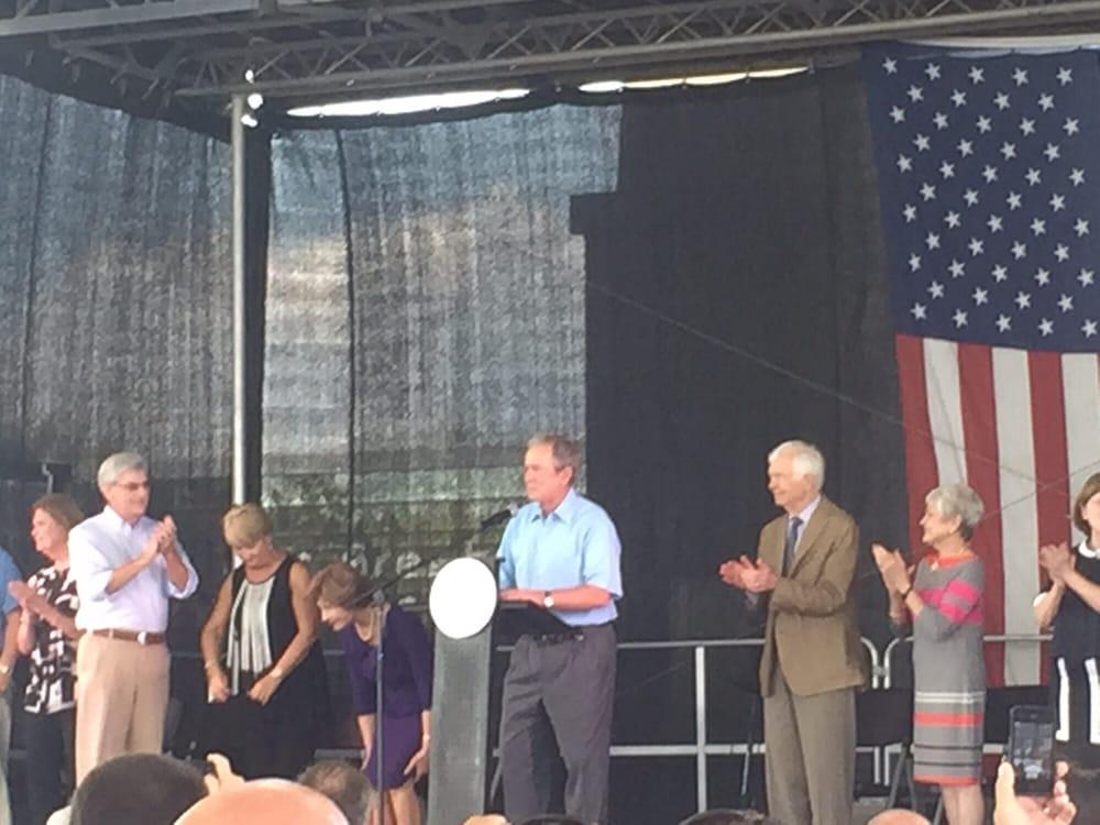 George Bush at the Barksdale Pavillion - Yelp