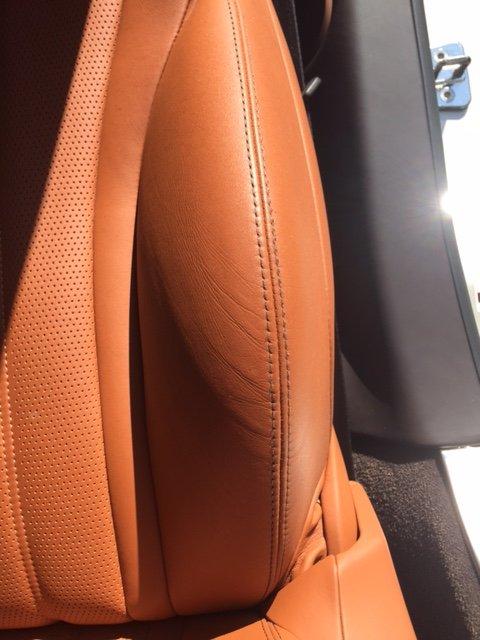 bentley car seat after randy 39 s repair yelp. Black Bedroom Furniture Sets. Home Design Ideas