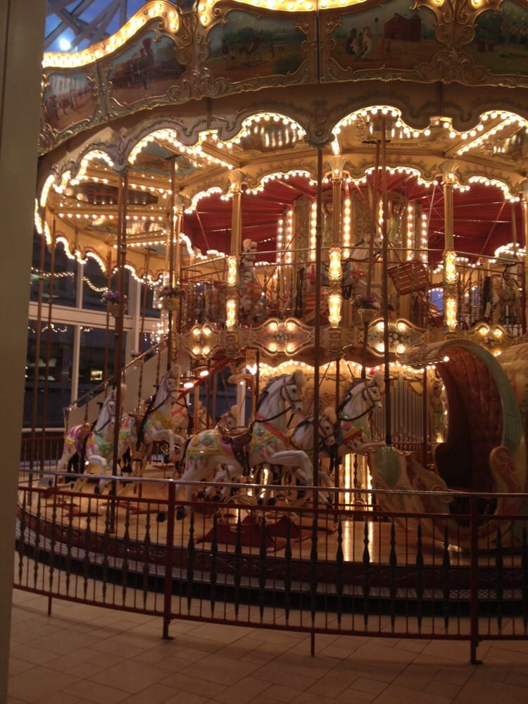 The old carousel from the Danbury Fair. - Yelp