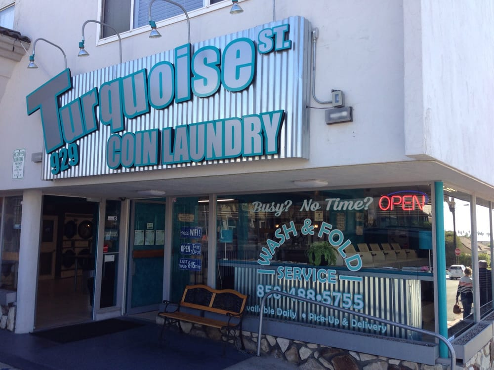 Turquoise St Coin Laundry Dry Cleaning Amp Laundry San